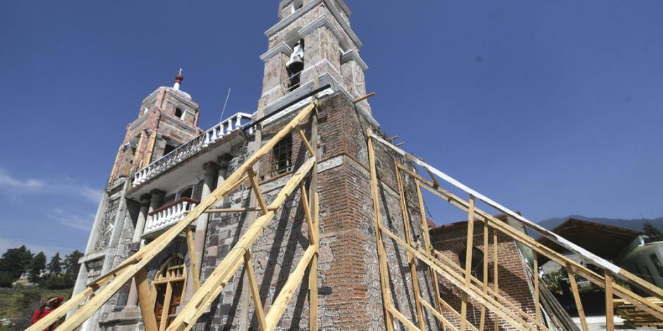 Sin seguro contra sismos, 139 mil monumentos, zonas arqueológicas y museos