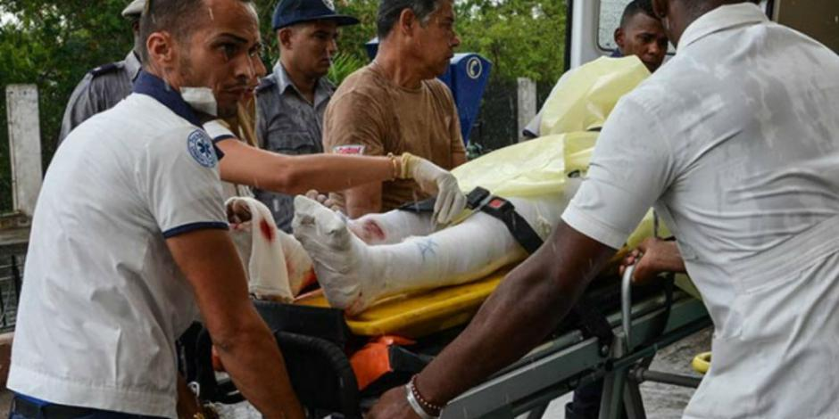 Fallece en hospital una de las sobrevivientes de accidente aéreo en Cuba