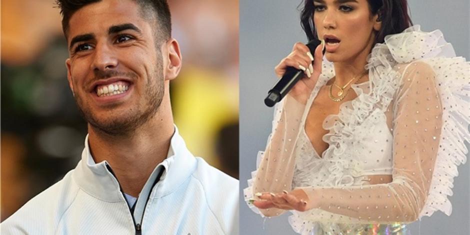 Responde Dua Lipa rumores sobre su relación con Marco Asensio