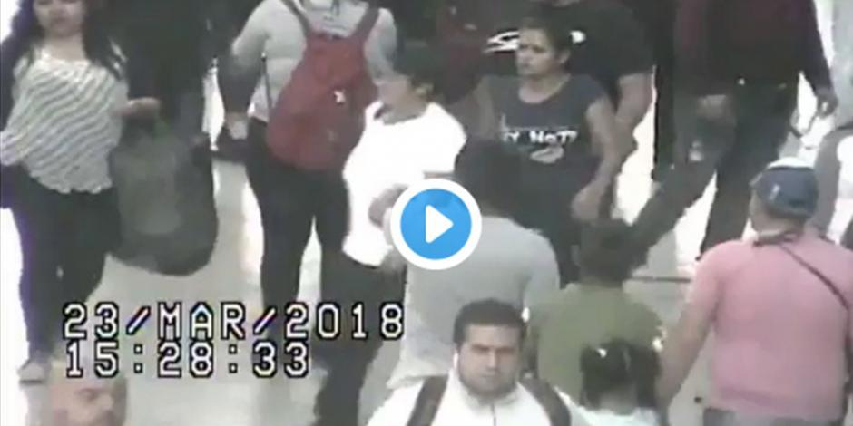 Detienen a colombianos por robo a transeúnte en el Centro Histórico