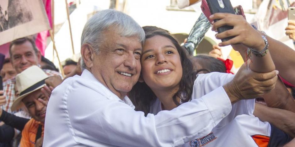 AMLO realiza gira de agradecimiento en Pachuca, Hidalgo