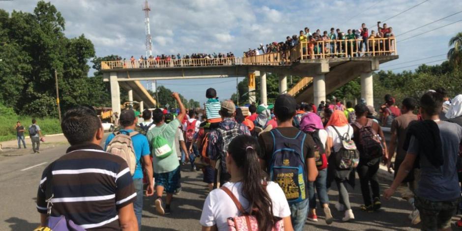 Migración ha recibido mil 28 solicitudes de refugio en tres días