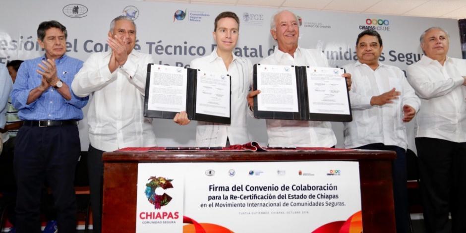 Chiapas fomenta la seguridad como bien social