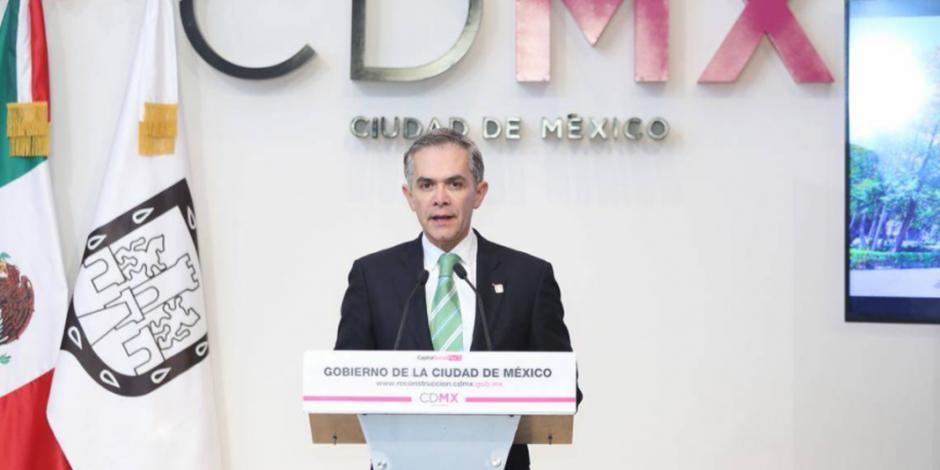 Mancera deja el GCDMX para impulsar gobierno de coalición