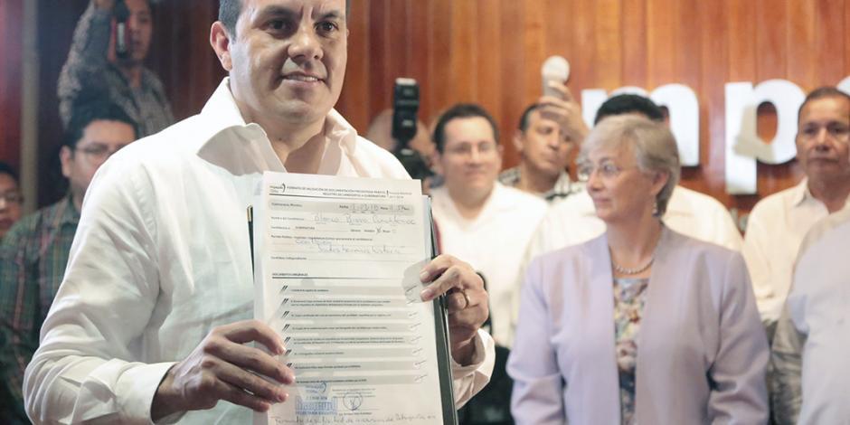 Temo la libra: ya es candidato en Morelos