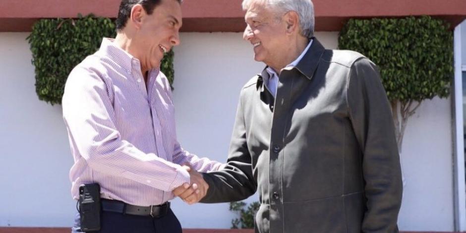 FOTOS: AMLO se reúne con el gobernador de Hidalgo, Omar Fayad