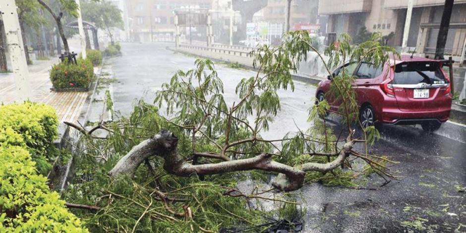 Tifón Trami suma 4 muertos y 150 heridos en Japón