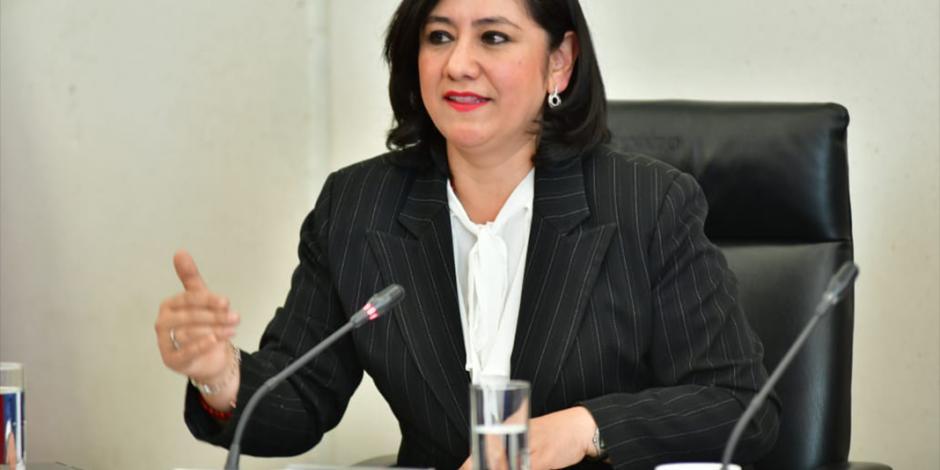 VIDEO: Eréndira Sandoval da a conocer los cinco ejes de acción de la SFP