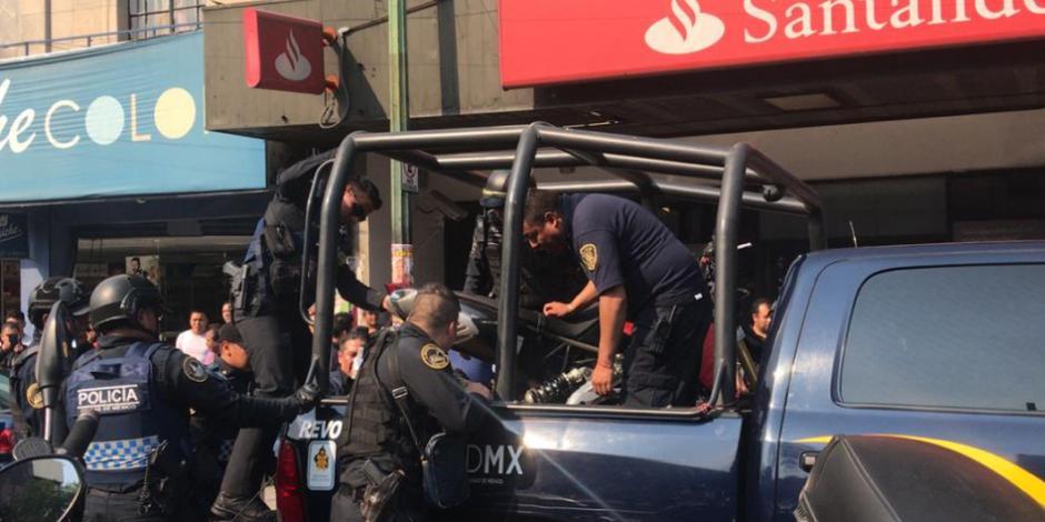 Reportan balacera en Santa María La Ribera, Cuauhtémoc