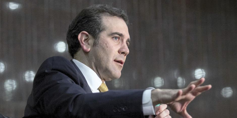 Lorenzo Córdova asegura que el INE está listo para segundo debate