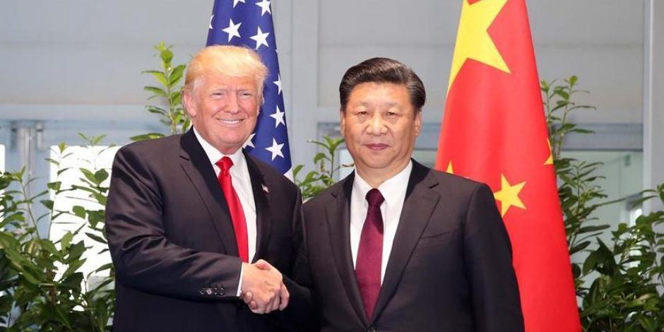 Se reúnen Donald Trump y Xi Jinping en medio de guerra comercial