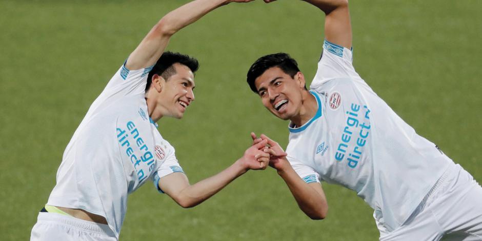 Chucky y Gutiérrez lideran al mejor PSV del 2000 a la fecha