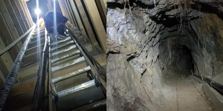 FOTOS: En Tecate, descubren túnel estilo