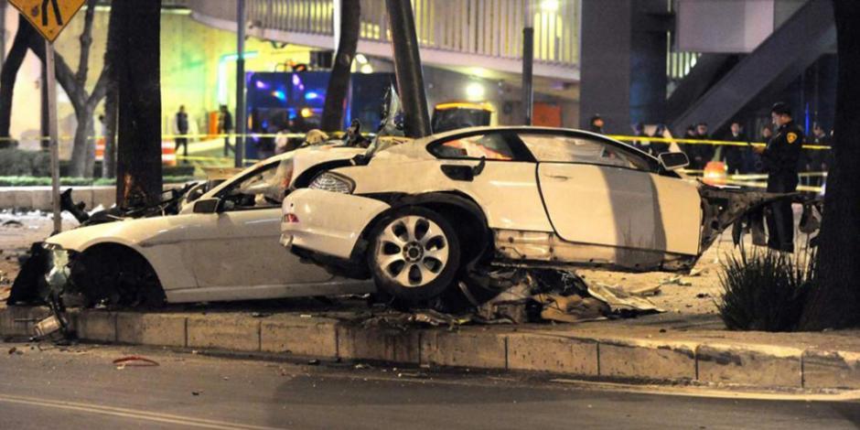 Declaran culpable de homicidio a conductor de BMW