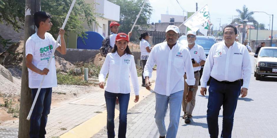 """""""Abanderado del PRI es la mejor opción"""", asegura dirigente tricolor"""