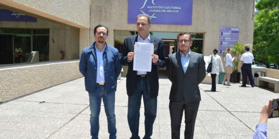 Da IECM ultimátum a Morena para retirar propaganda contra Taboada en BJ