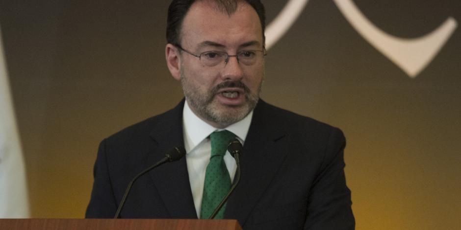 USMCA no obstaculiza intercambios económicos con China: Videgaray