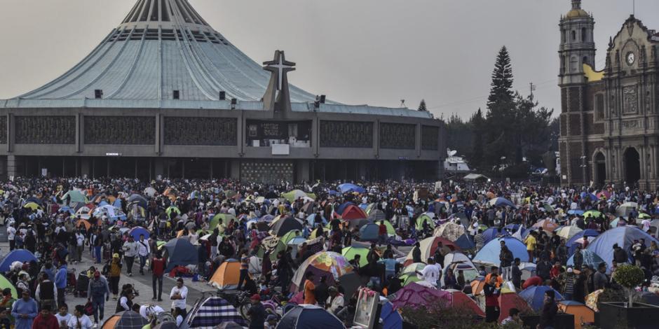 CRÓNICA: Basílica de Guadalupe, donde la fe mueve a multitudes