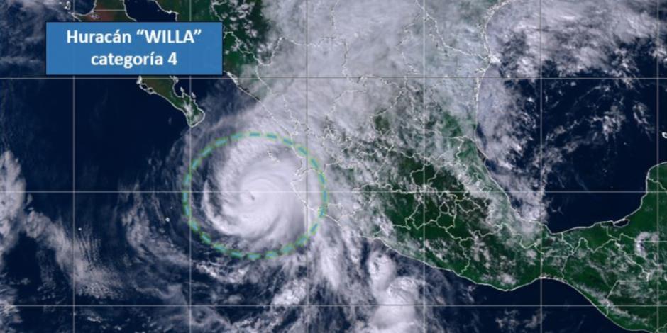 México, en alerta máxima por el huracán Willa, potencialmente catastrófico