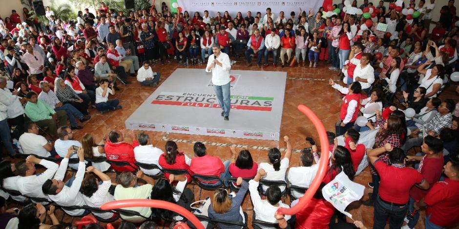 Frente a las ocurrencias y la división, el PRI dará estabilidad a México: Nemer