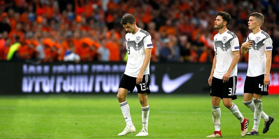 Con cinco caídas, Alemania vive su peor racha en 33 años