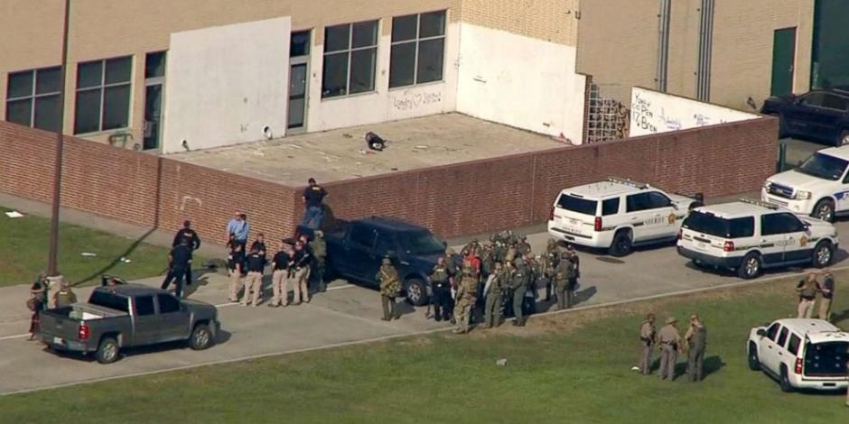 VIDEO: Tirador mata a 10 estudiantes en Texas
