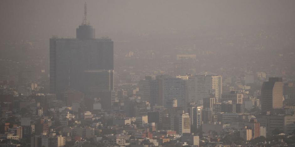 Mantienen contingencia por mala calidad del aire en el Valle de México