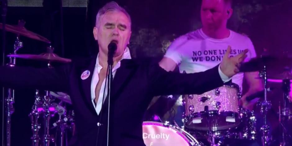 Morrissey vuelve a México, esta vez al Auditorio Nacional