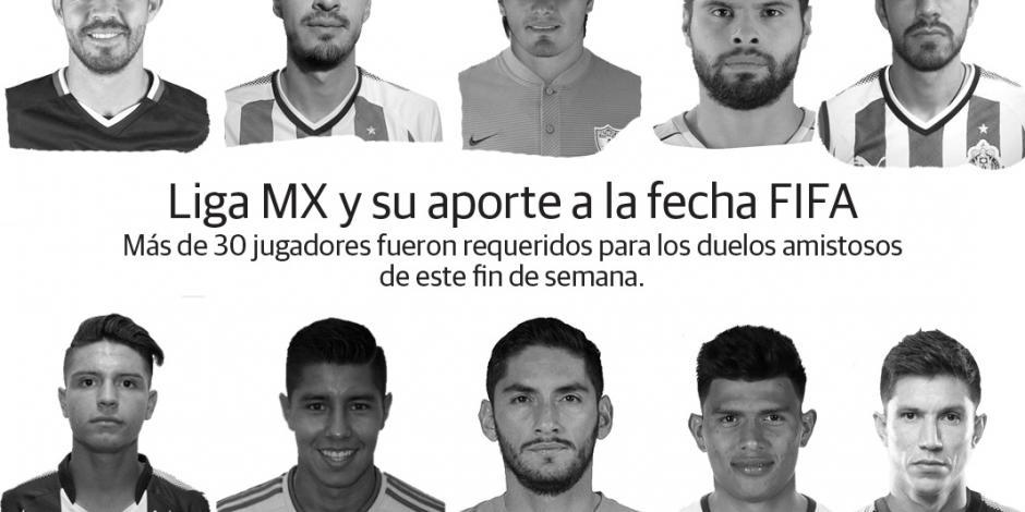 Con 36 jugadores de Liga MX arranca la fecha FIFA