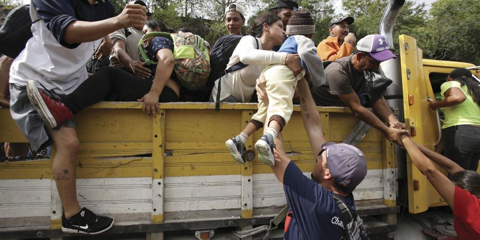 CNDH y ONG piden visión humanitaria para migrantes