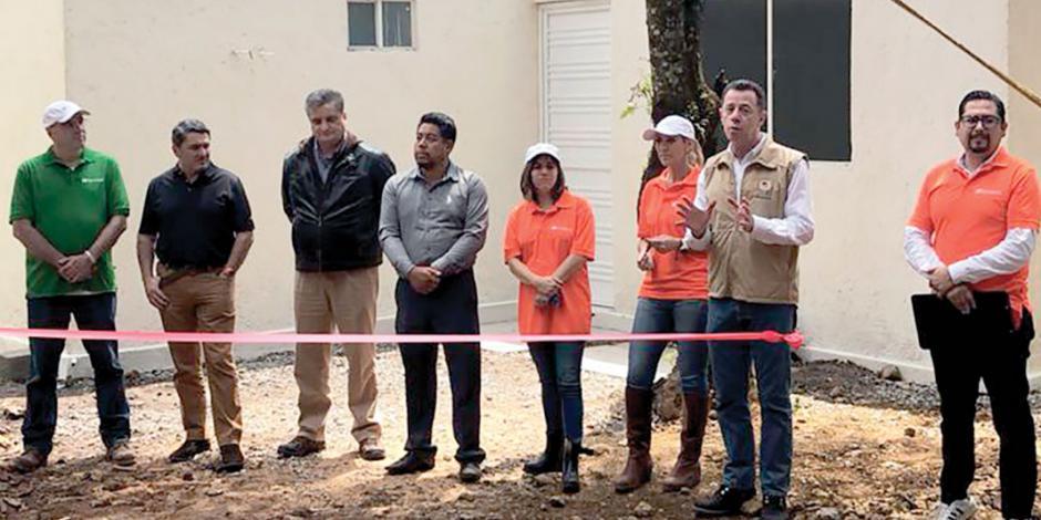 Banorte anuncia que en 2019 reconstruirá 400 viviendas