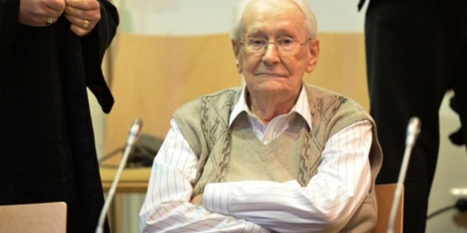 El contador de Auschwitz muere a los 96 años sin haber pisado la cárcel