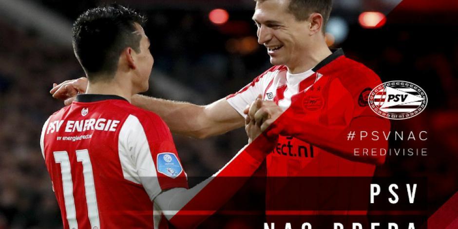 Con asistencia de Chucky Lozano, el PSV vive Sábado de Gloria