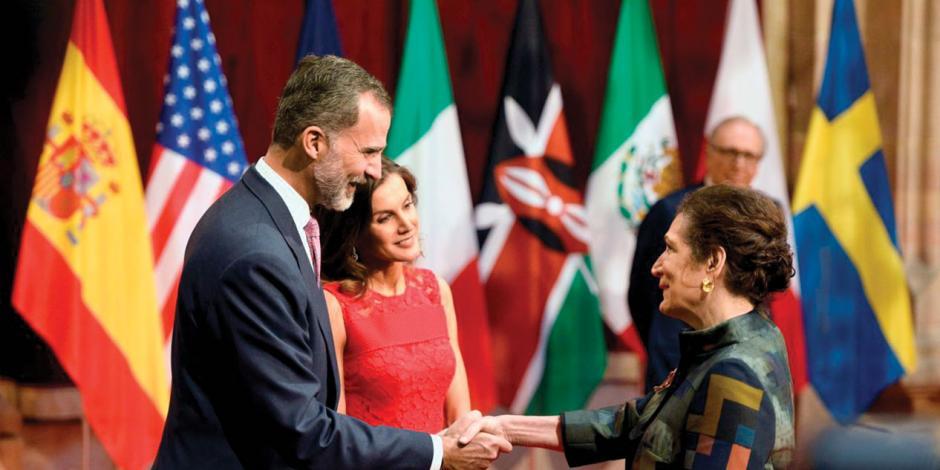 Recibe el Princesa de Asturias Alma Guillermoprieto