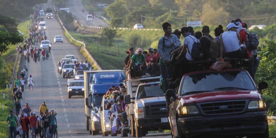 Migrantes buscan llegar a la CDMX para negociar plan