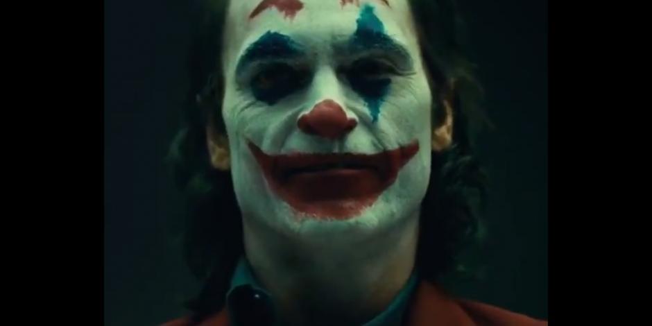 Revelan video de Joaquin Phoenix caracterizado como