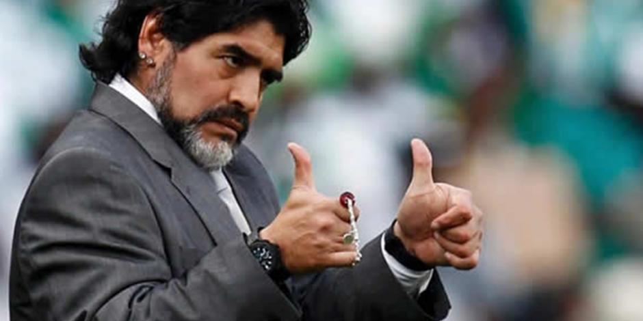 Diego Armando Maradona, nuevo DT de Dorados de Sinaloa