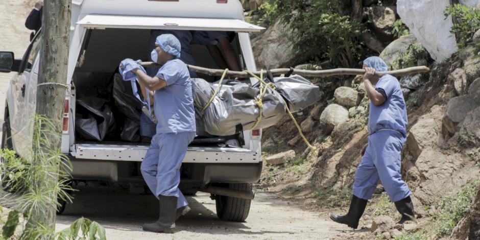 Revela CNDH hallazgo de 530 cuerpos en fosas clandestinas en los últimos 20 meses