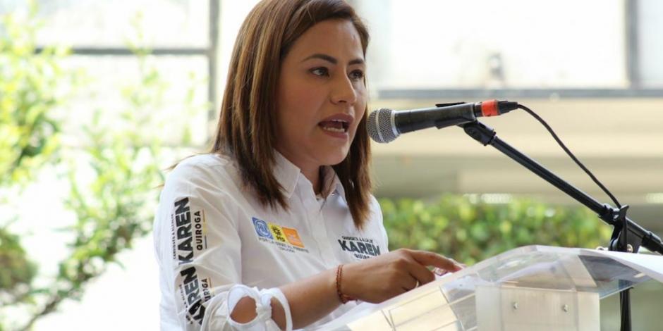 Convoca Karen Quiroga a integrar Consejo Ciudadano contra delincuencia