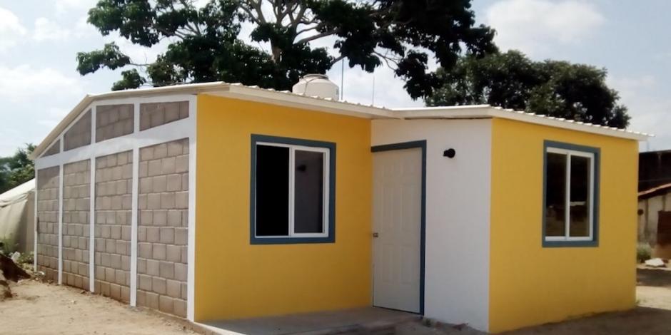 Inicia Citibanamex entrega de casas a damnificados de sismos en Oaxaca