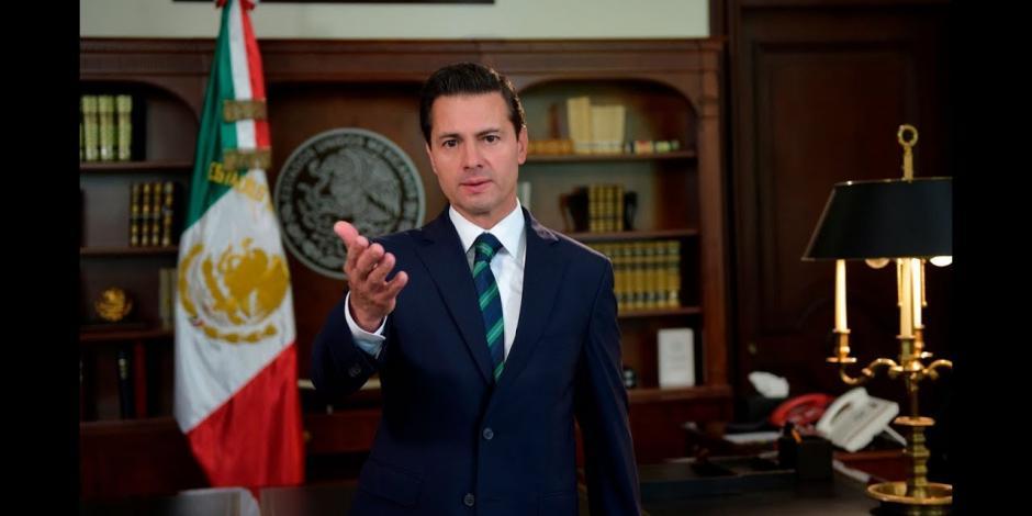 En seis años, México logró ser referente en el mundo, afirma EPN