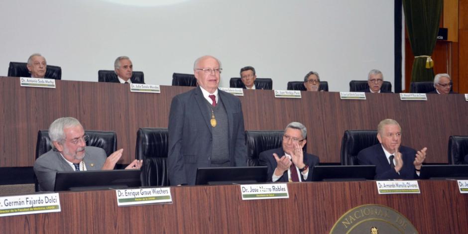 Academia Nacional de Medicina, órgano asesor por más de 150 años: Narro