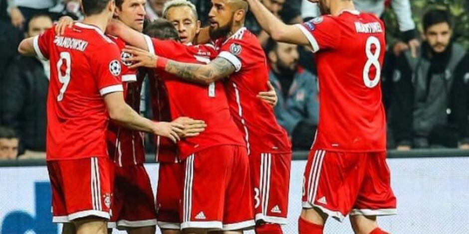 Bayern Munich cumple con el trámite; ya está en cuartos de la