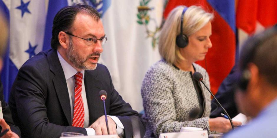 México y EU se coordinan para desmantelar a criminales: Videgaray