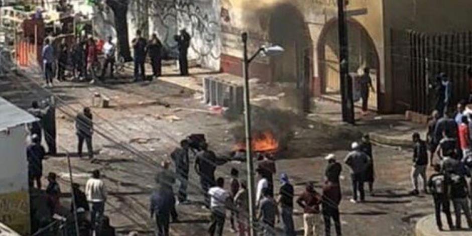 A balazos, vecinos defienden predio en Azcapotzalco