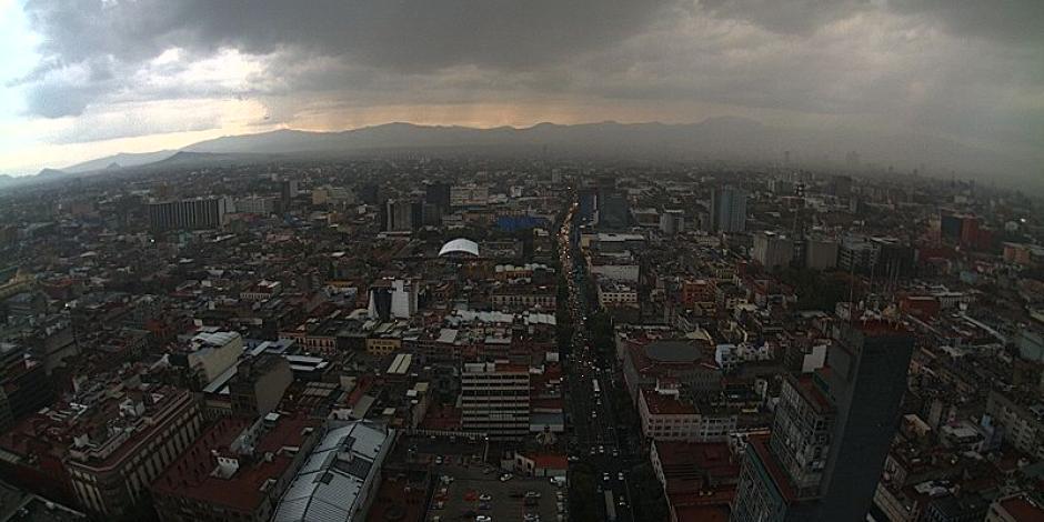 Llueve en el norte, centro y sur de la CDMX