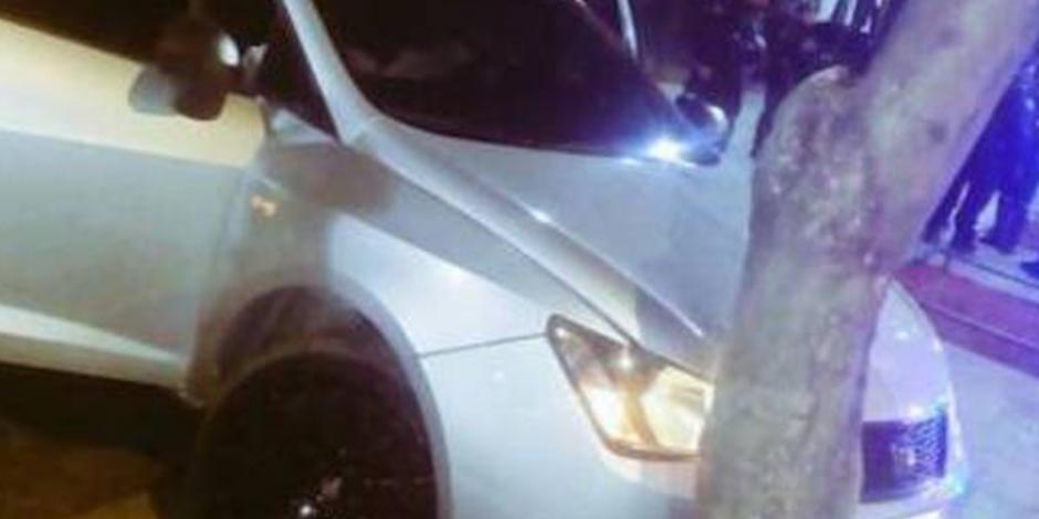 Detienen a automovilista que intentó atropellar a policías en la Alameda