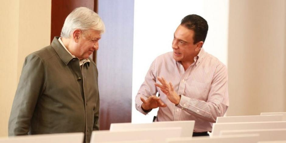 Con Omar Fayad no habrá confrontación, asegura López Obrador