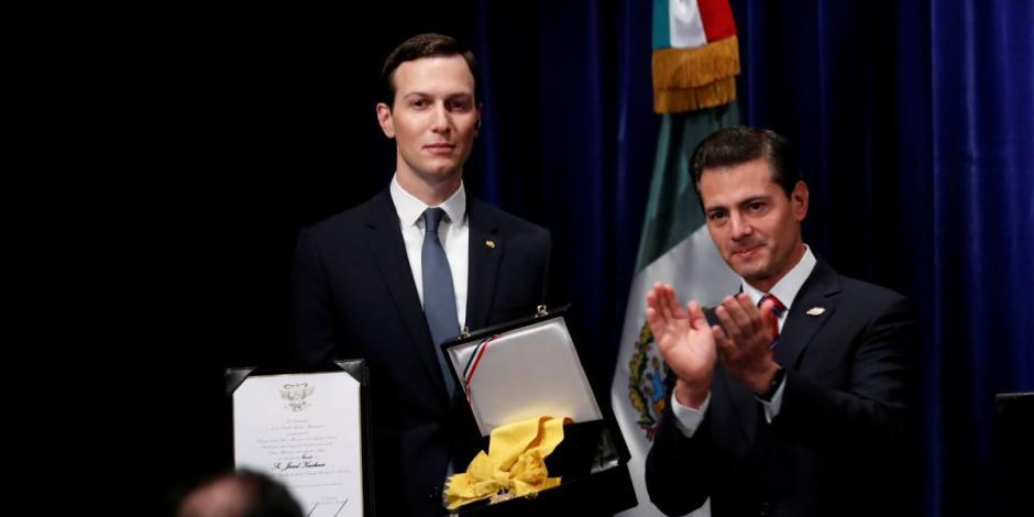 EPN entrega Orden del Águila Azteca a Jared Kushner