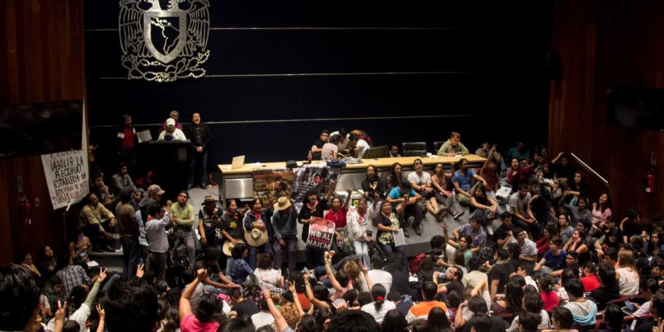 Denuncia Asamblea Interuniversitaria ataque a vocera del CCH Naucalpan